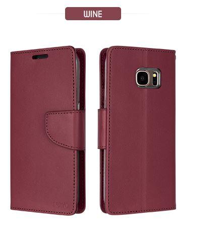 Mercury Bravo Diary pouzdro flip Huawei P9 Lite Wine