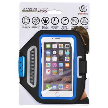 "Pouzdro REBELTEC ARMBAND ACTIVE pro telefony do 5,5"", blue"