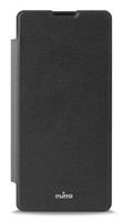 PURO flipové pouzdro na mobil Sony Xperia XA černé
