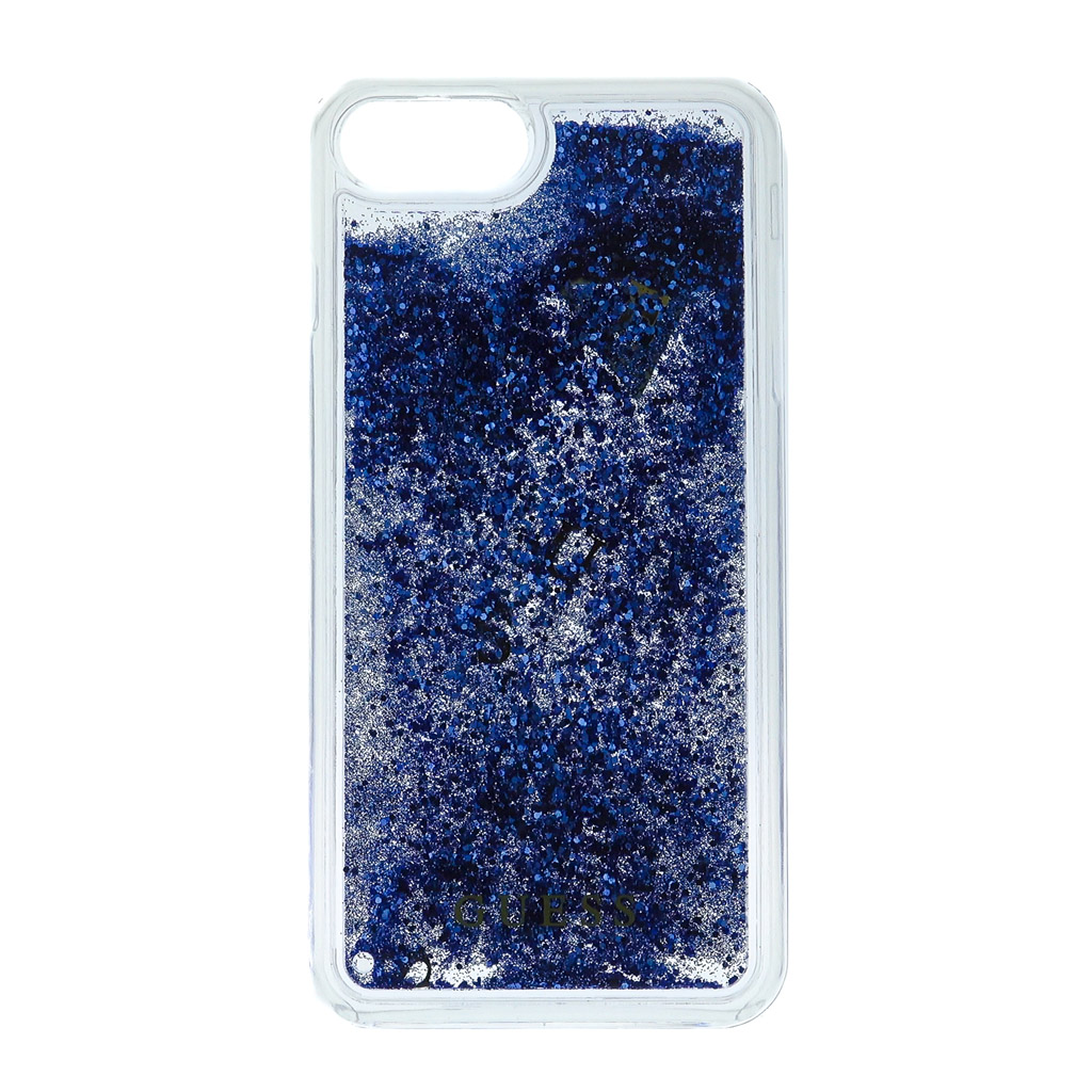 Pouzdro Guess Liquid Glitter Hard pro iPhone 7 Plus, purple