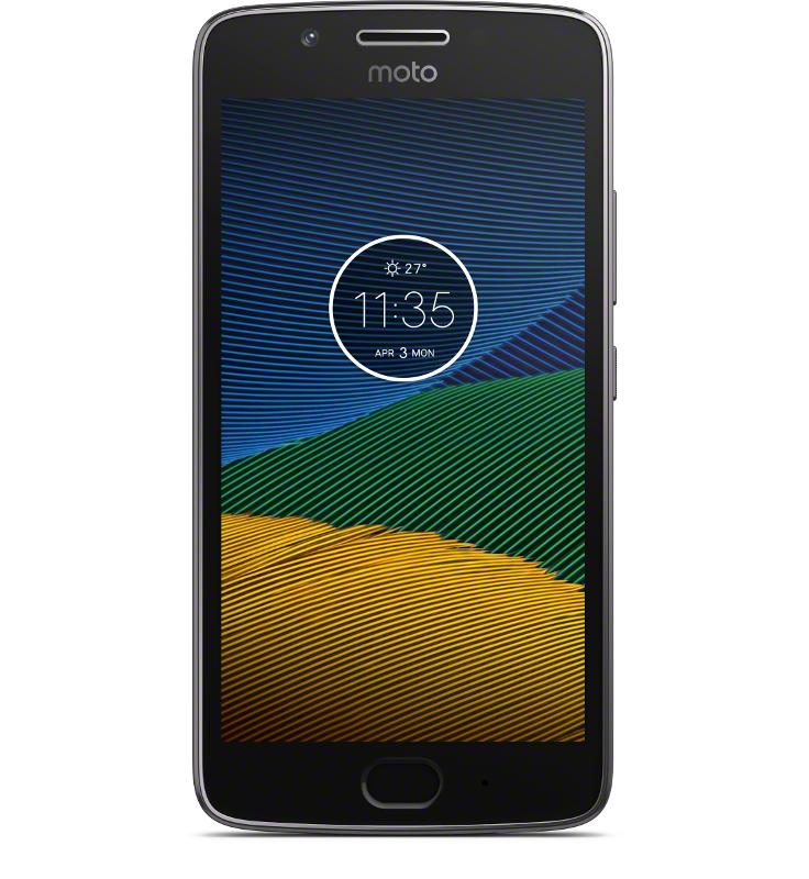 Lenovo Moto G5 Dual Sim 2GB / 16GB Grey