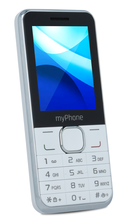 CPA myPhone CLASSIC Dual SIM White