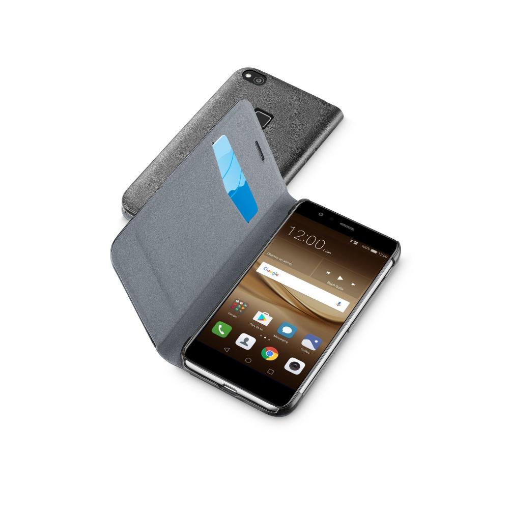 Pouzdro CellularLine Book Essential Huawei P10 Lite black