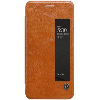 Nillkin Qin S-View flipové pouzdro Huawei P10 brown