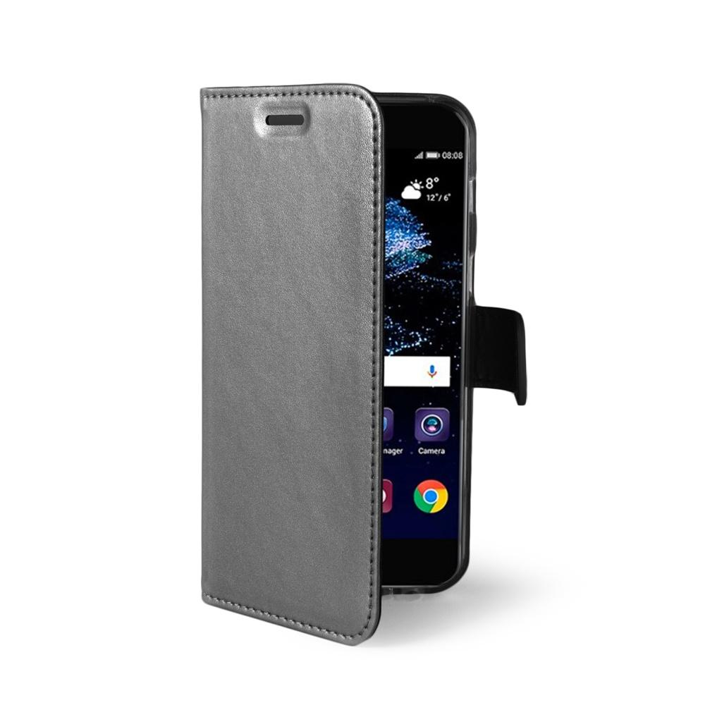 CELLY Air Ultra tenké flipové pouzdro Huawei P10 Lite silver