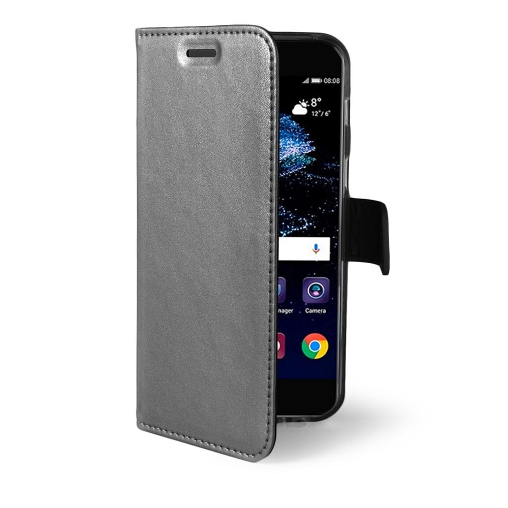 CELLY Air Ultra tenké flipové pouzdro Huawei P10 Plus silver