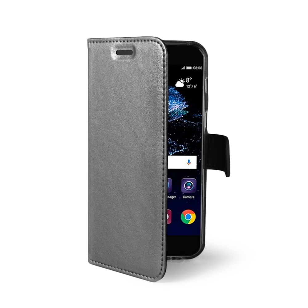 CELLY Air Ultra tenké flipové pouzdro Huawei P10 silver