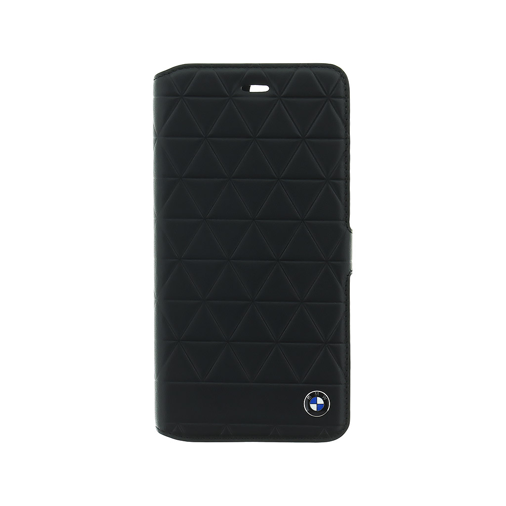 BMW Hexagon BMFLBKP7LHEXBK flipové pouzdro Apple iPhone 7 Plus black