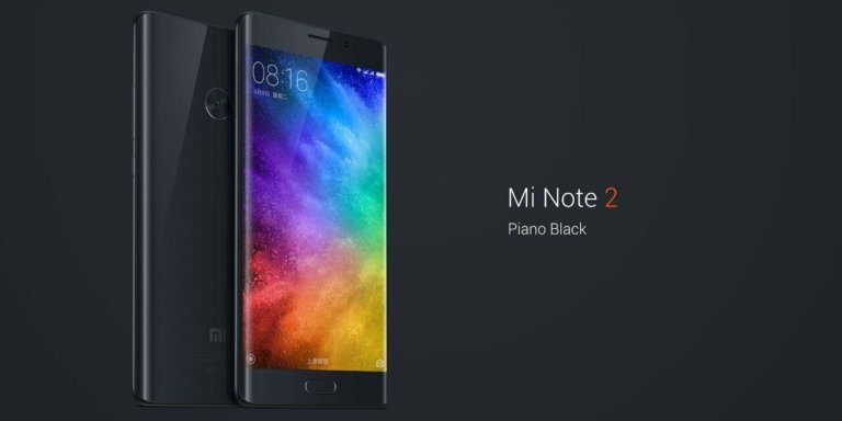 Xiaomi Mi Note 2 CZ LTE 6GB/128GB Global Black