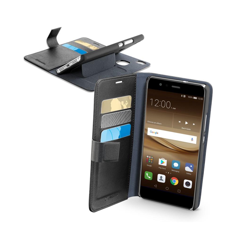 CellularLine Book Agenda pouzdro flip Huawei P10 Lite black