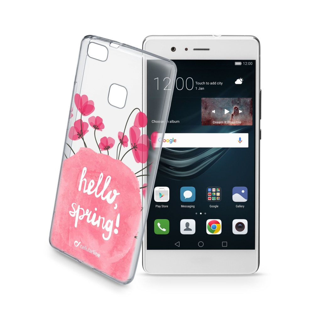 Pouzdro Cellularline STYLE pro Huawei P9 Lite, motiv BLOOM