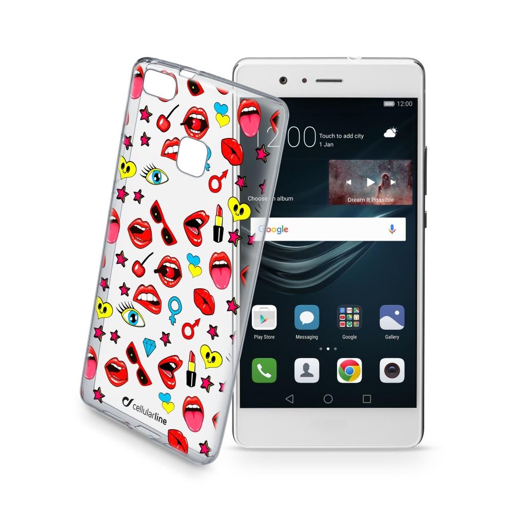 Pouzdro Cellularline STYLE pro Huawei P9 Lite, motiv POP