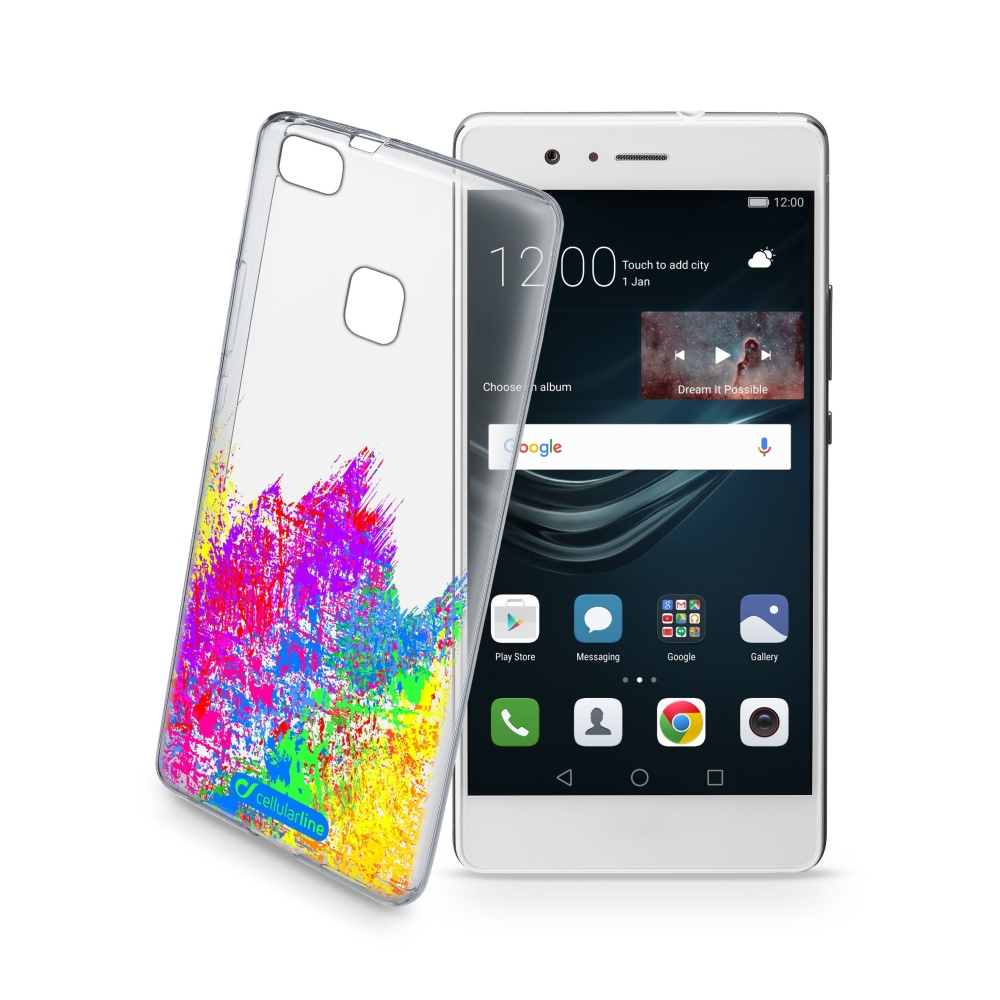 Pouzdro Cellularline STYLE pro Huawei P9 Lite, motiv ART