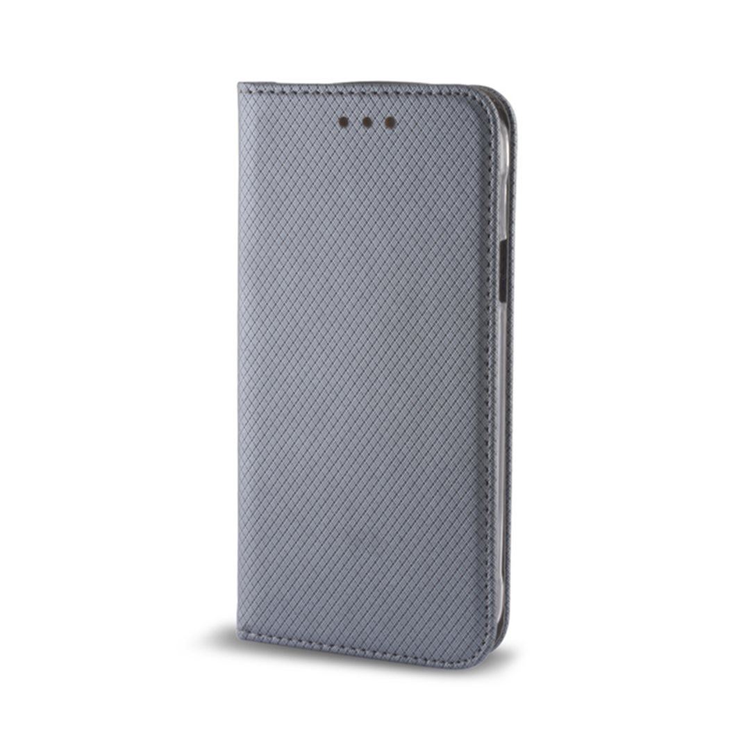 Smart Magnet flipové pouzdro LG K4 2017 steel