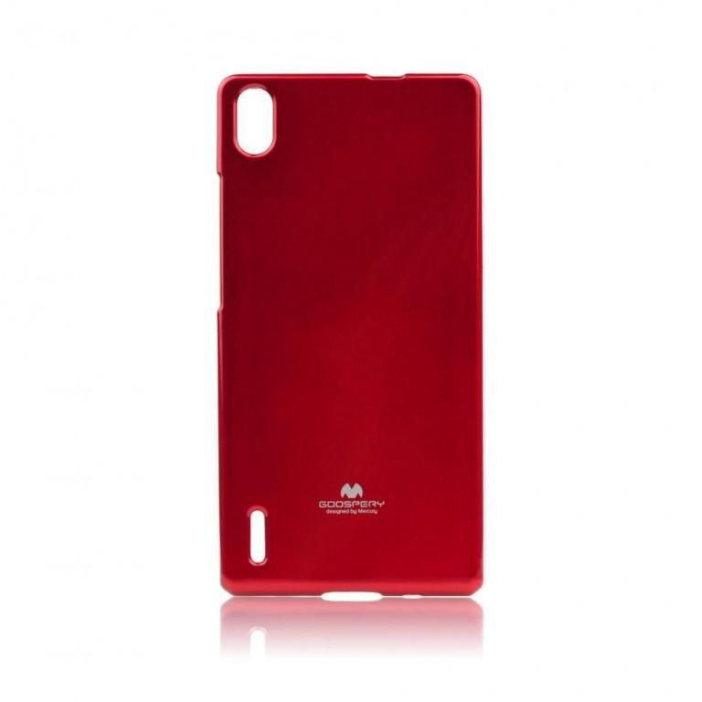 Pouzdro Mercury Jelly Case pro Sony G3121 Xperia XA1 Red
