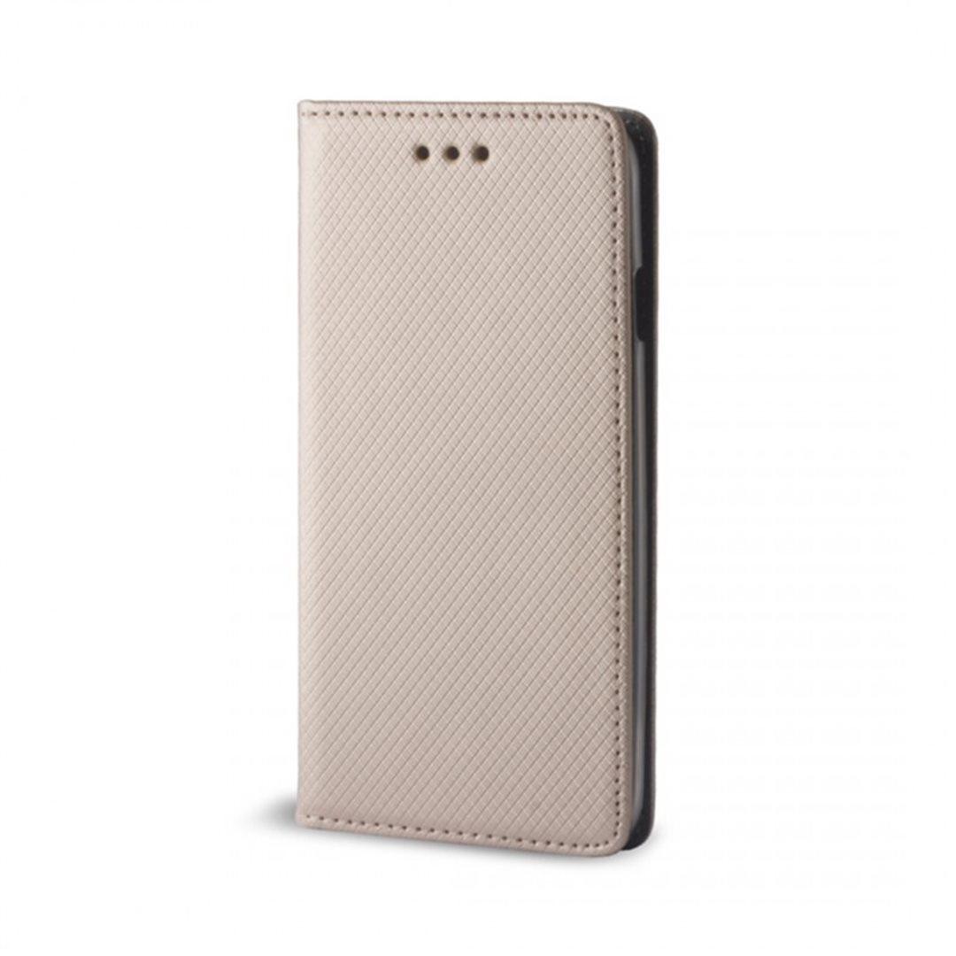 Smart Magnet flipové pouzdro Lenovo K6 Note gold