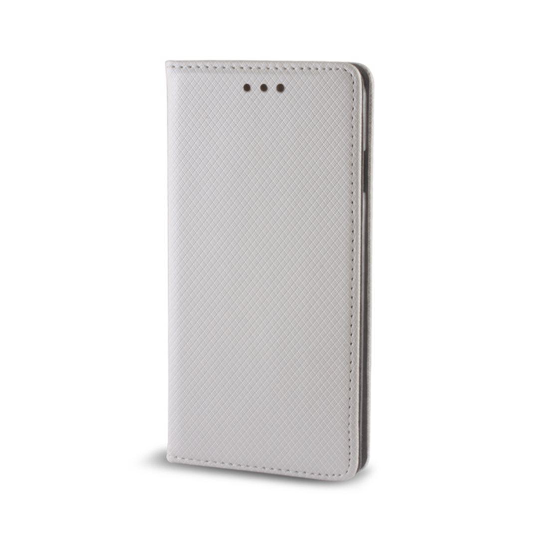 Smart Magnet flipové pouzdro Samsung Galaxy A3 2017 metalic