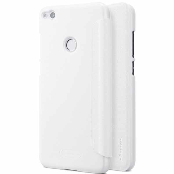 Nillkin Sparkle flipové pouzdro Huawei P8/P9 Lite 2017 white