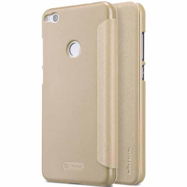 Nillkin Sparkle flipové pouzdro Huawei P8/P9 Lite 2017 gold