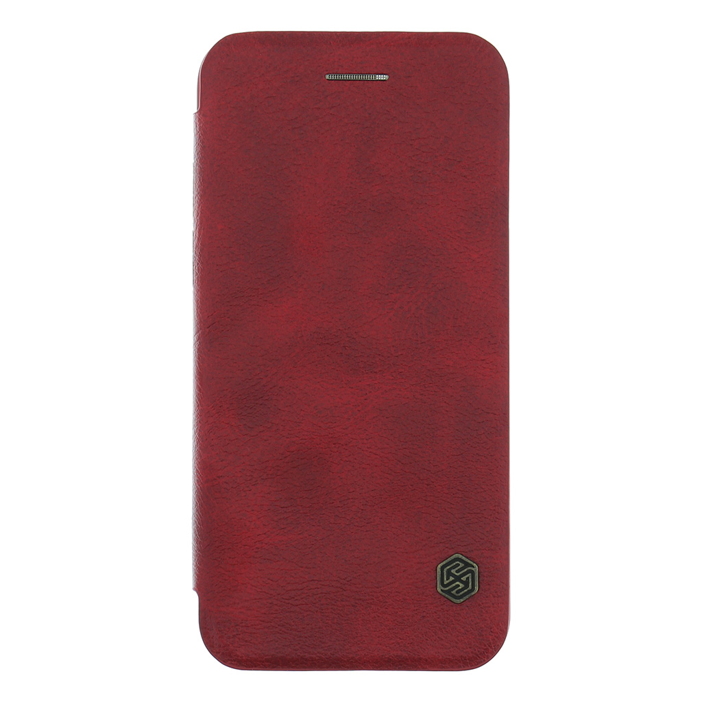 Nillkin Qin Book flipové pouzdro Apple iPhone 7 red