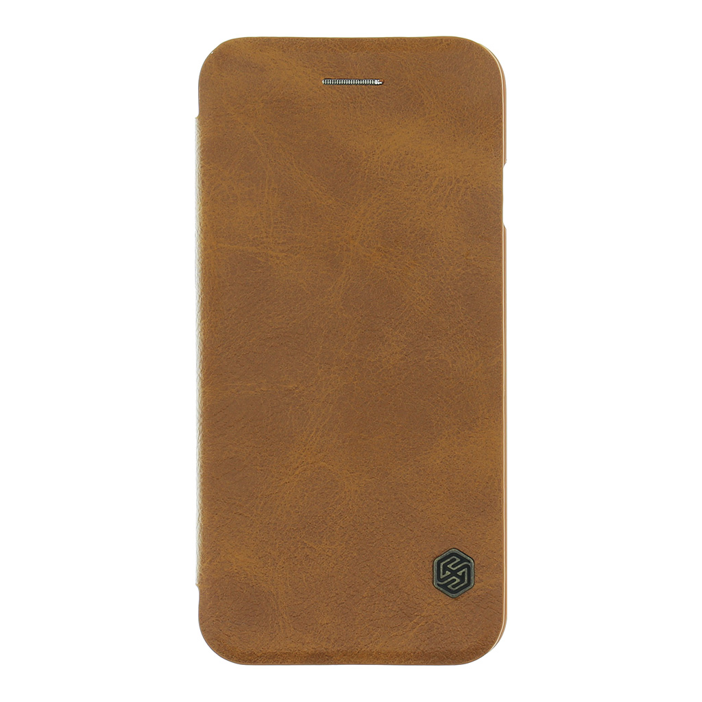 Nillkin Qin Book flipové pouzdro Apple iPhone 7 brown