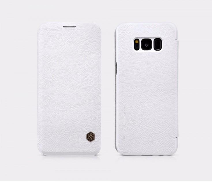 Nillkin Qin Book flipové pouzdro Samsung Galaxy S8 white
