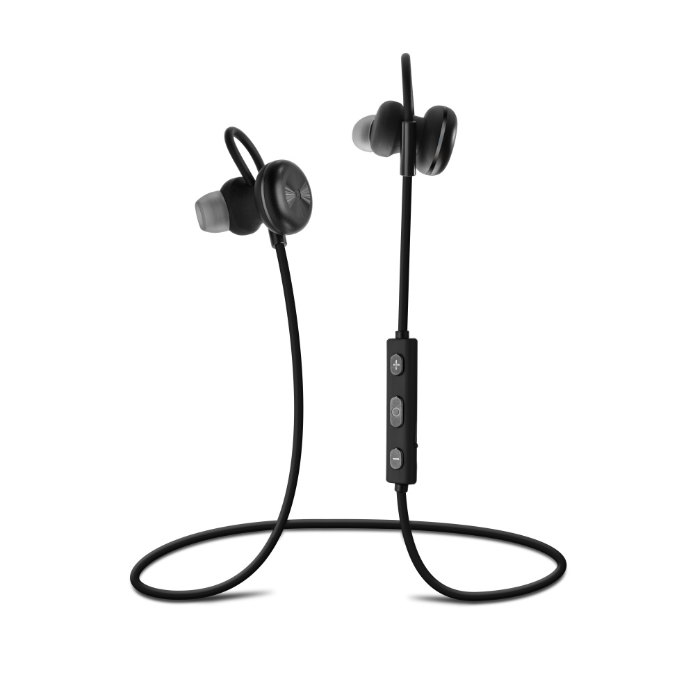 Stereo Bluetooth sluchátka FIXED Steel A2DP black