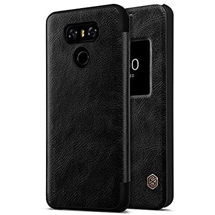 Nillkin Qin S-View flipové pouzdro LG G6 black