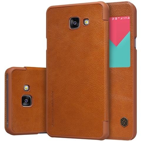 Nillkin Qin S-View flipové pouzdro Samsung Galaxy A5 2017 brown