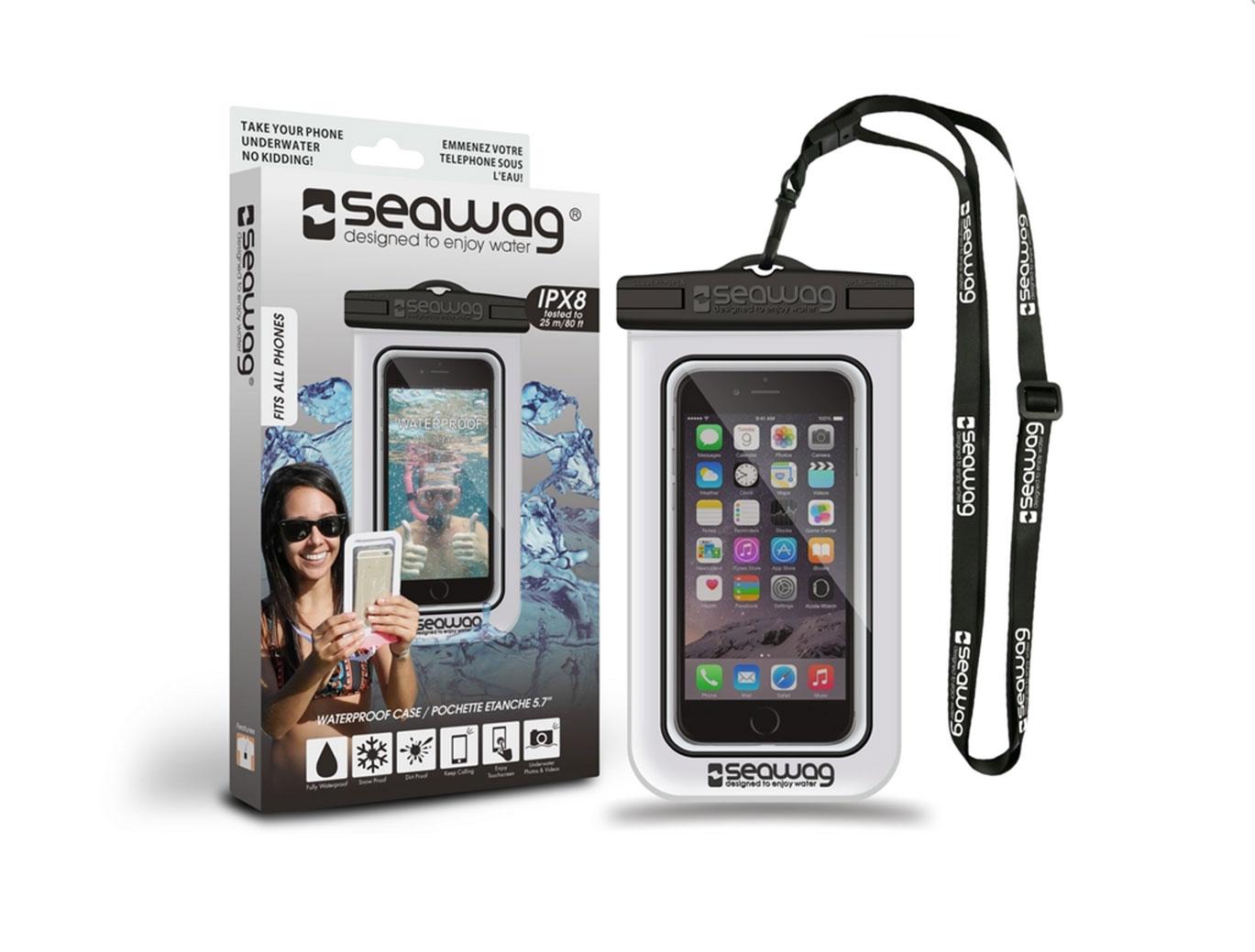"SEAWAG Voděodolné pouzdro pro telefon 5.7"" white/black"