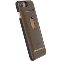 Krusell pouzdro TIMRA WalletCover Apple iPhone 7 Plus brown