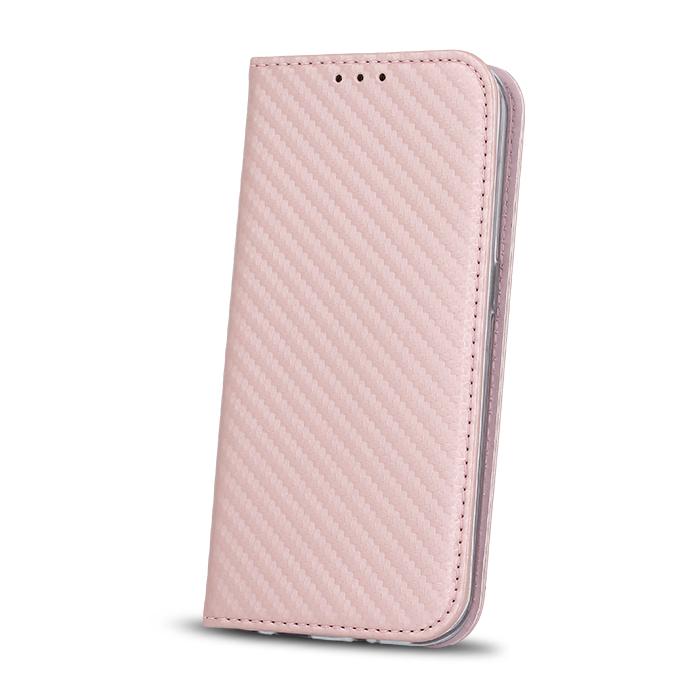 Smart Carbon flipové pouzdro Samsung Galaxy J3 2016 rose