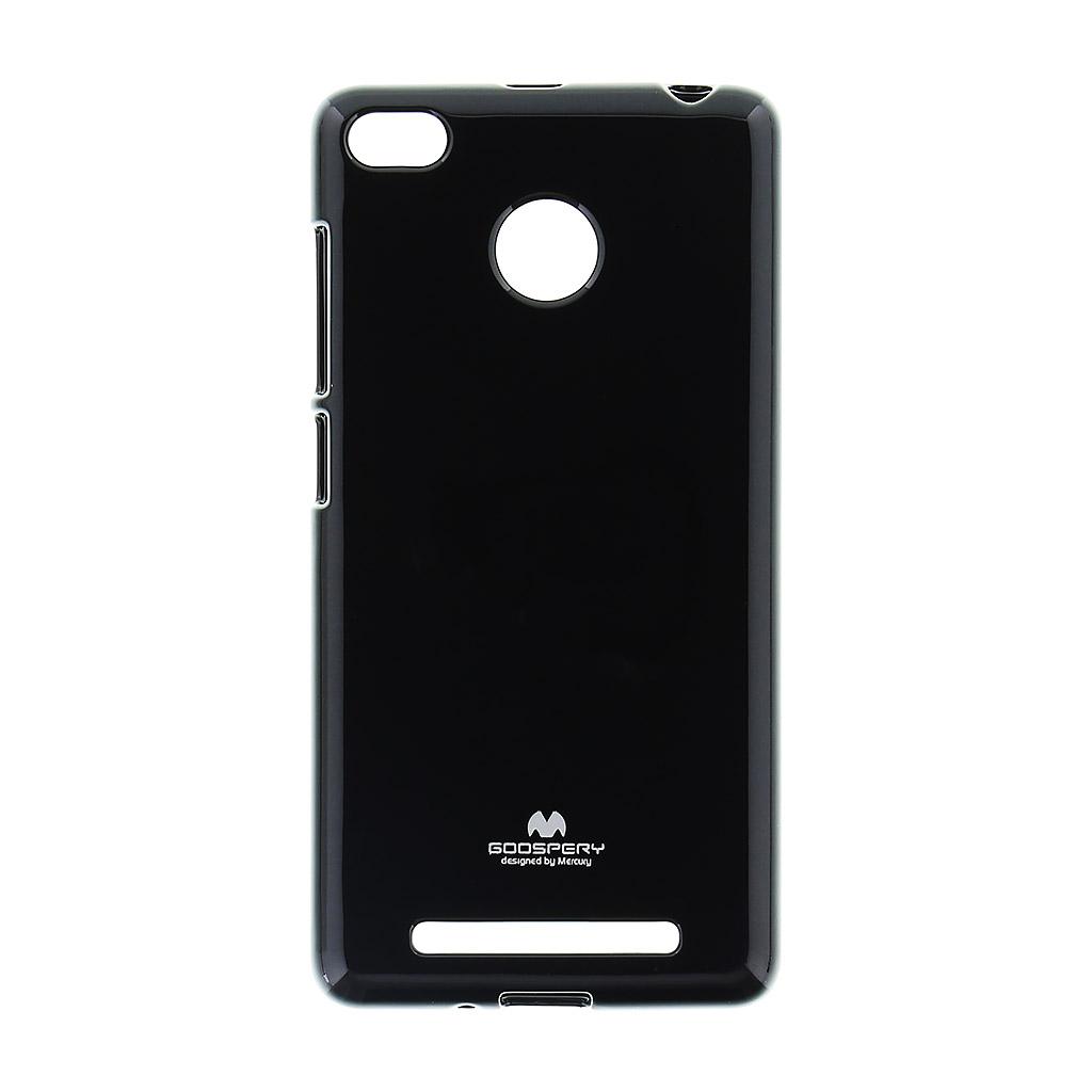 Pouzdro Mercury Jelly Case pro Xiaomi Redmi Note 3 Black