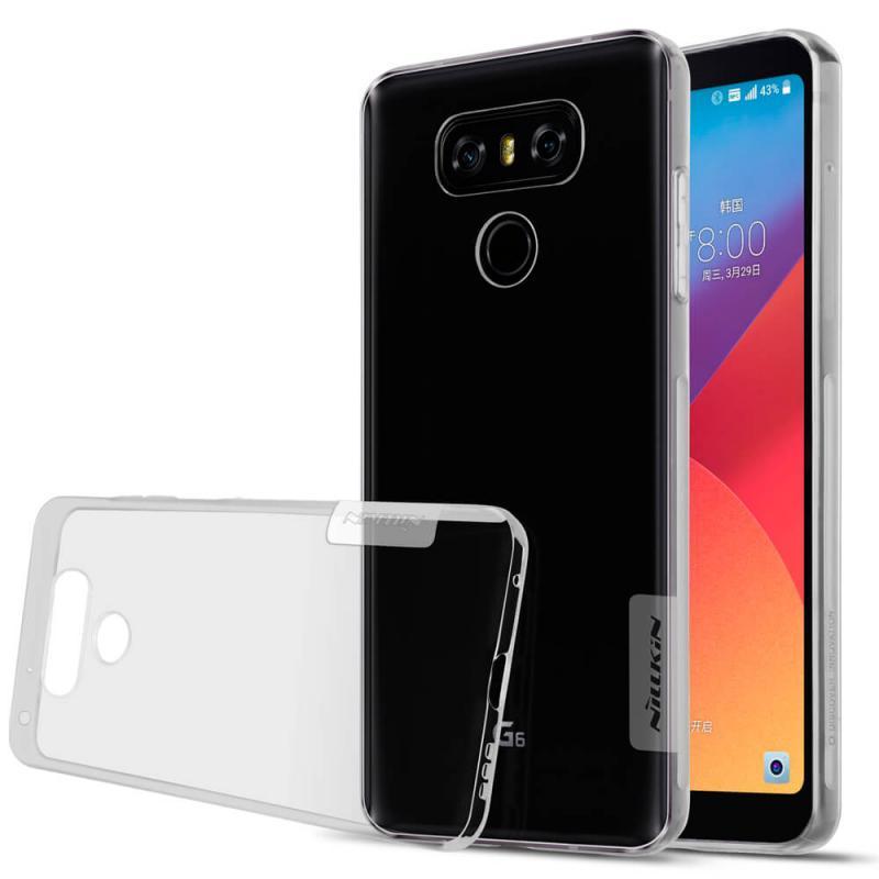 Silikonové pouzdro Nillkin Nature pro LG H870 G6 Grey
