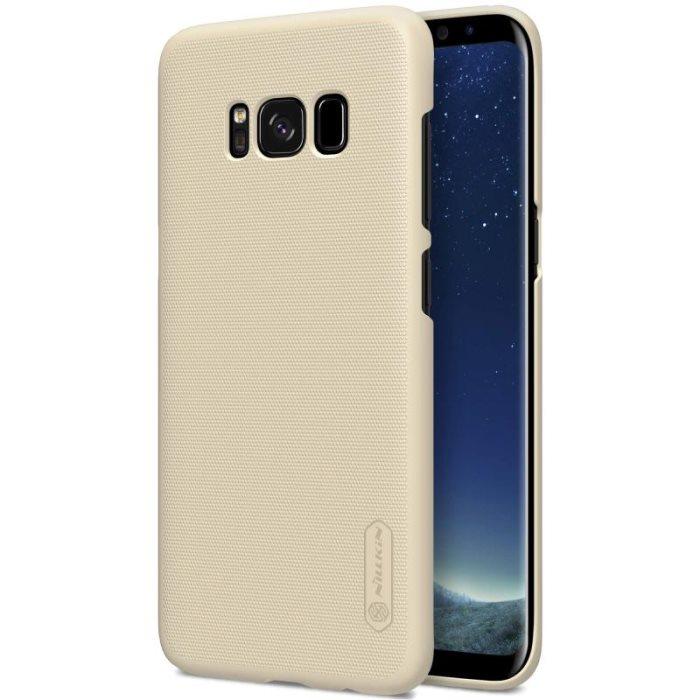 Zadní kryt Nillkin Super Frosted pro Samsung G955 Galaxy S8 Plus Gold