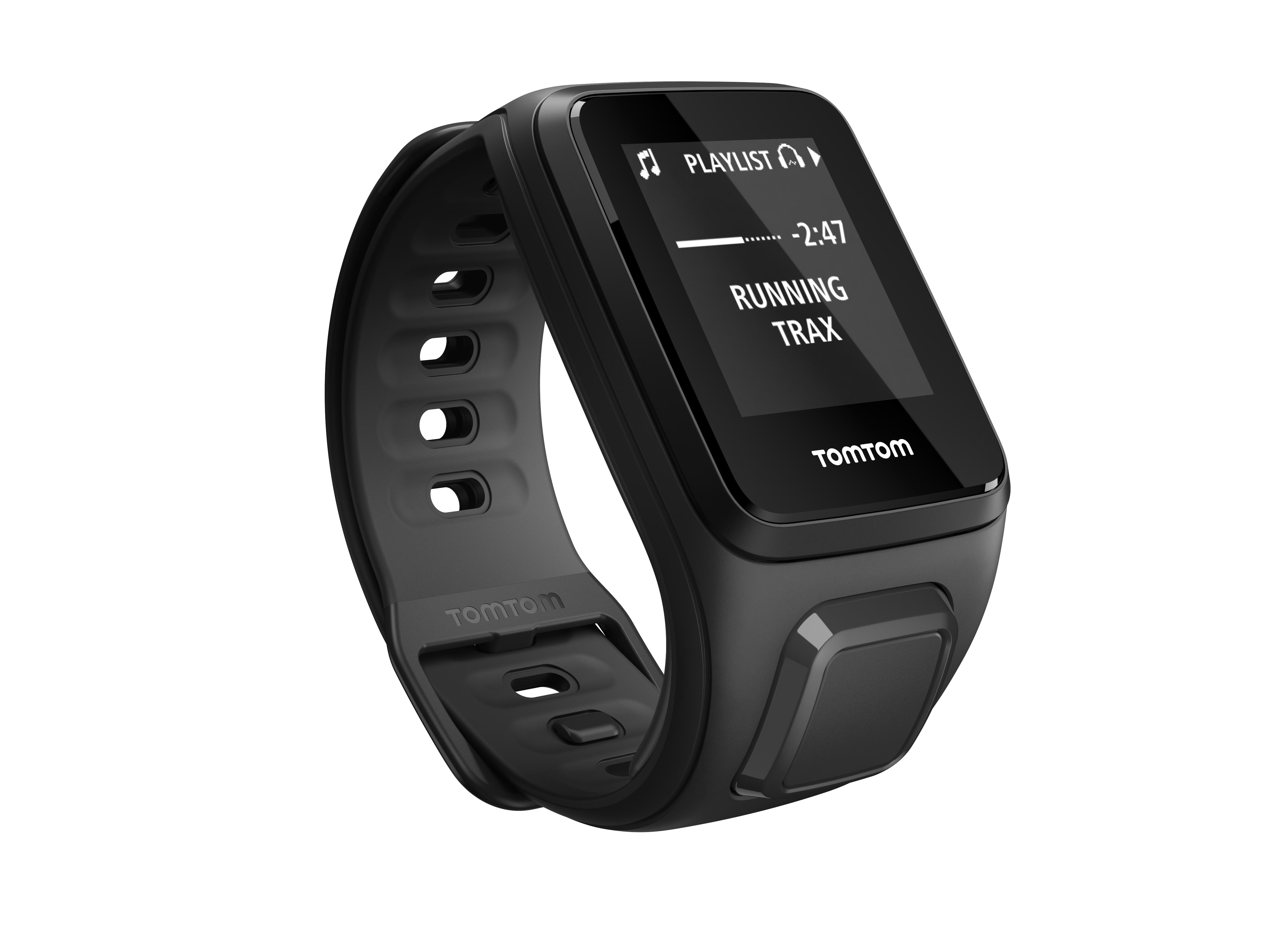 TomTom GPS hodinky Spark Fitness Music (S), Black