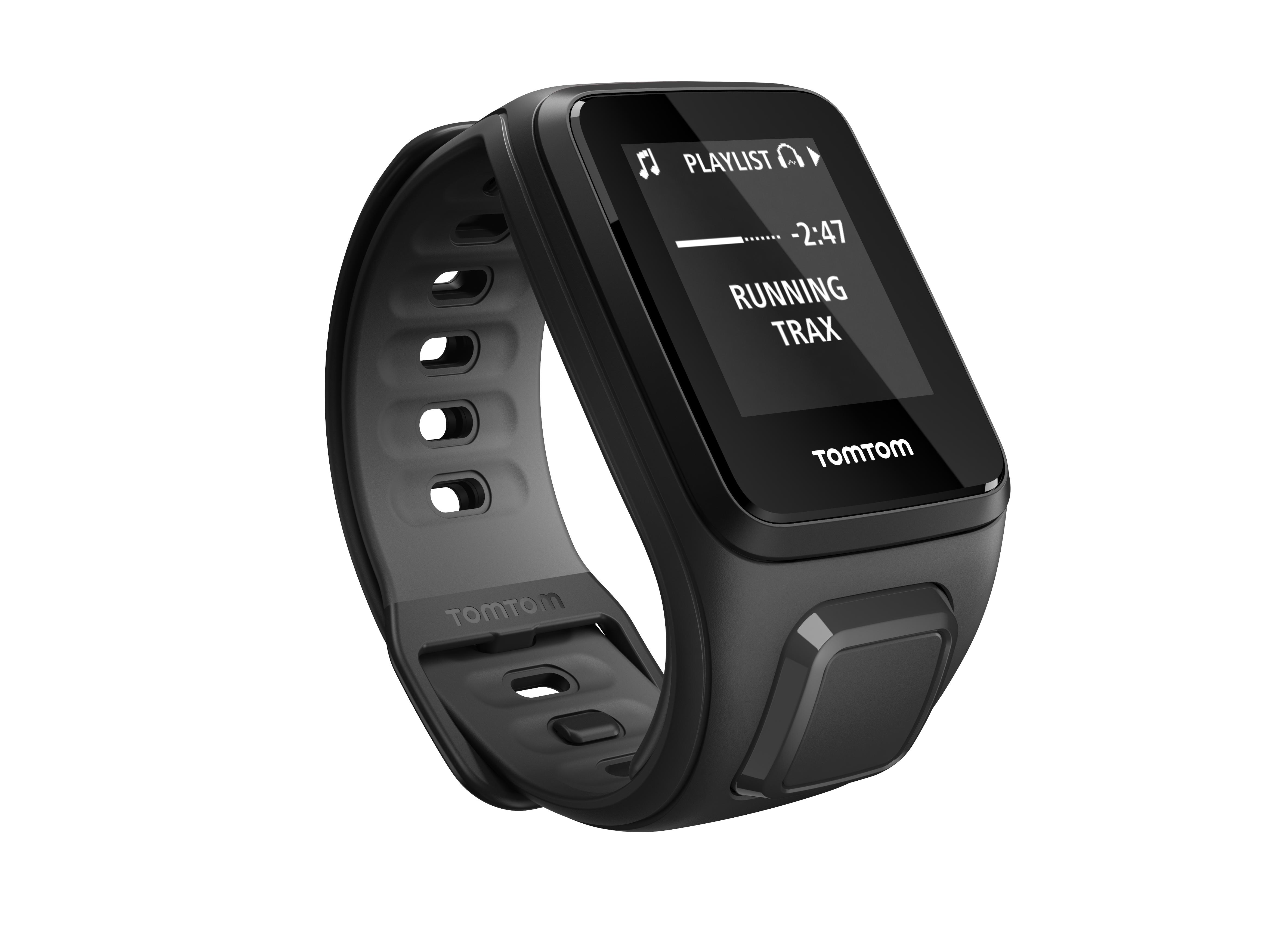 TomTom GPS hodinky Runner 2 Music (S), Black/Antracit