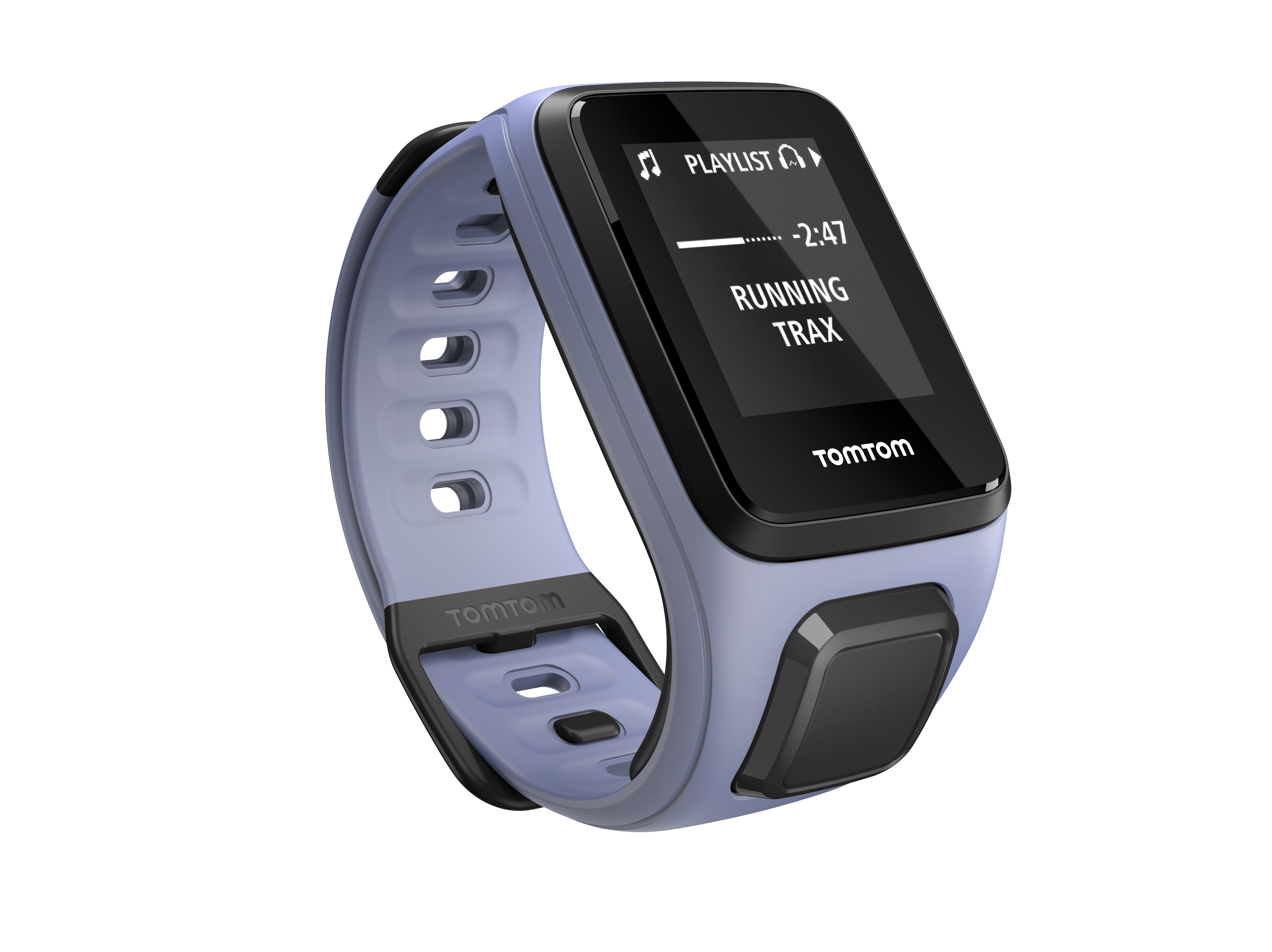 TomTom GPS hodinky Spark Fitness Cardio + Music (S), Violet