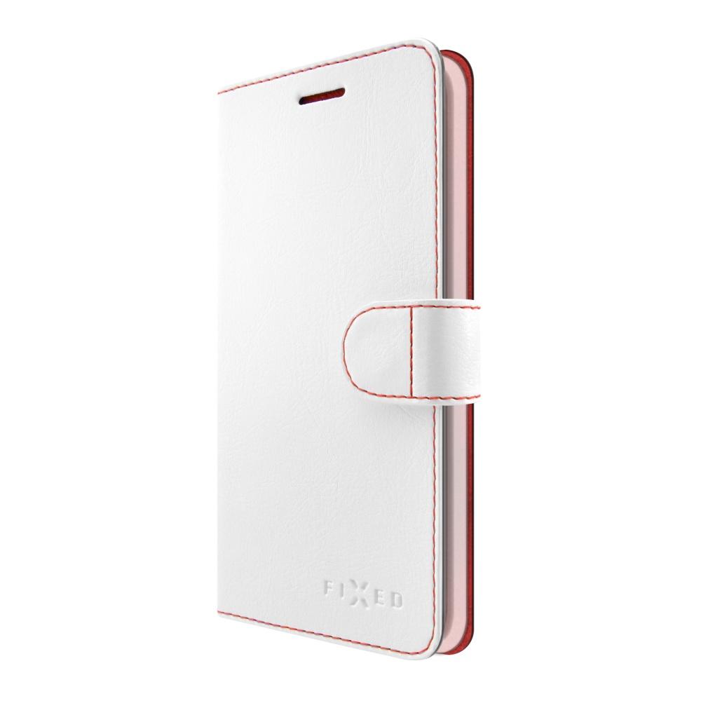 FIXED FIT flipové pouzdro Huawei Y7 white