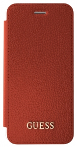 Guess IriDescent Book GUFLBKS8LIGLTRE pouzdro flip Samsung Galaxy S8+ red