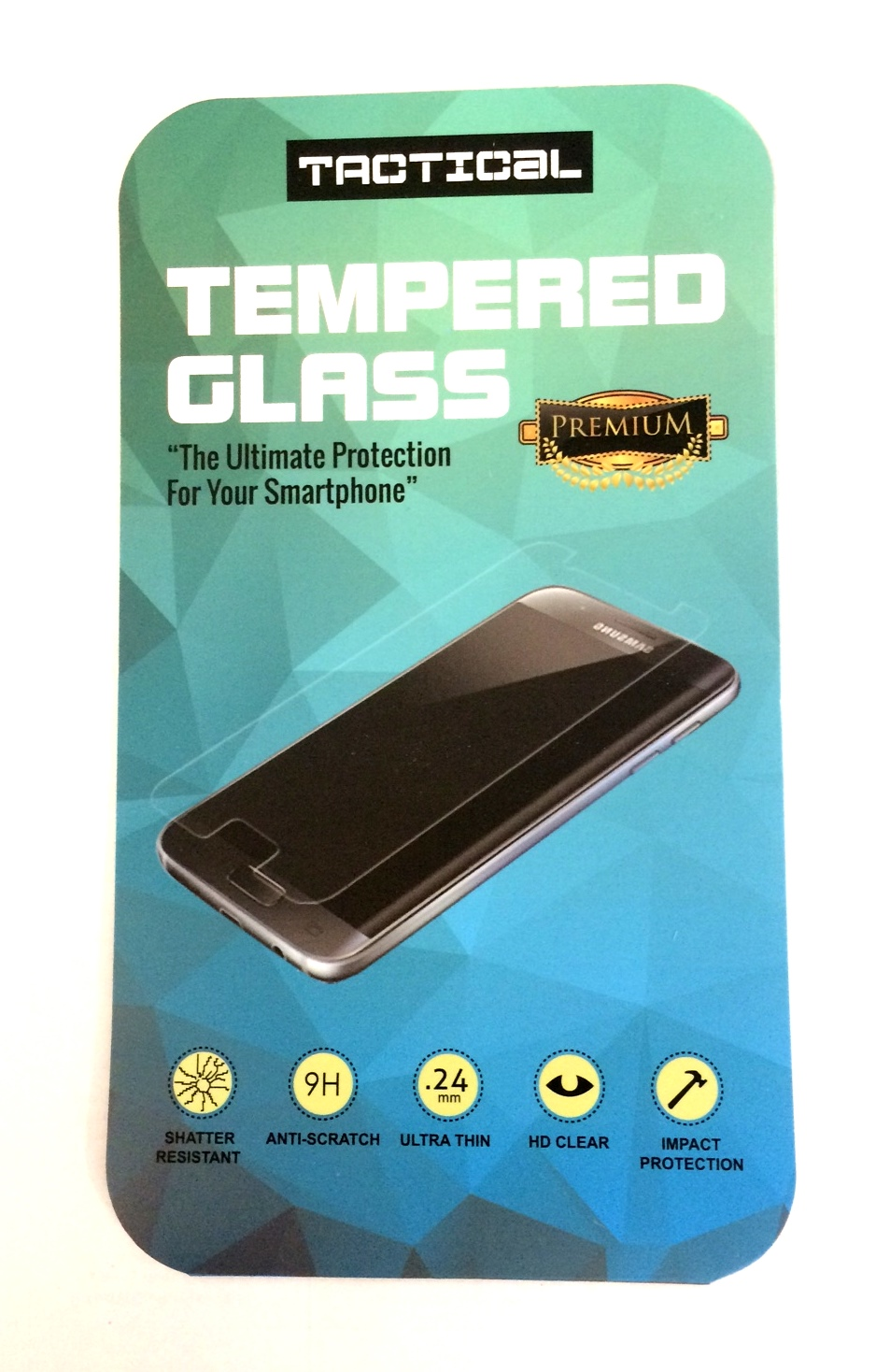 Tvrzené sklo Tactical 2.5D pro Sony Xperia XZ Premium, black