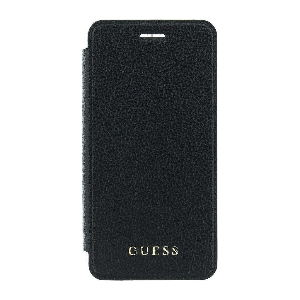 Guess IriDescent Book GUFLBKS8LIGLTBK pouzdro flip Samsung Galaxy S8+ black