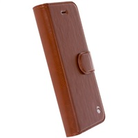 Krusell flipové pouzdro EKERÖ FolioWallet 2in1 Apple iPhone 7 cognac