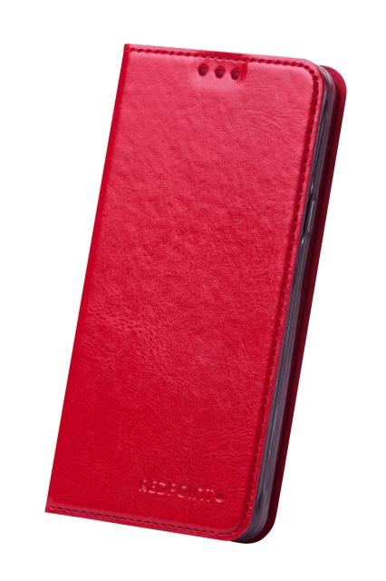 RedPoint Book Slim flipové pouzdro Samsung Galaxy S5 mini red