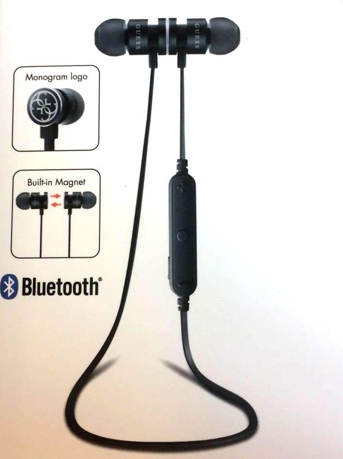 Guess Bluetooth Stereo Headset GUEPBTBK black (EU Blister)