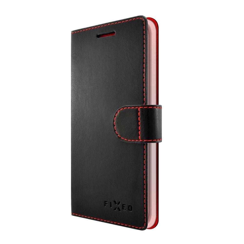 FIXED FIT flipové pouzdro Huawei Y6 2017 black