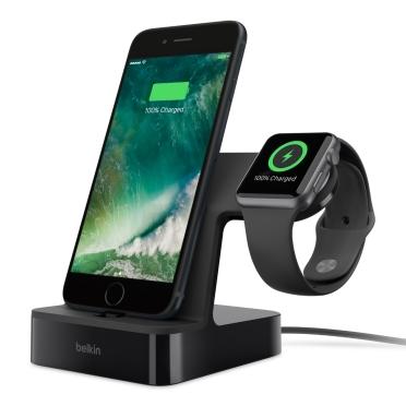BELKIN VALET Dokovací a nabíjecí stanice pro iPhone a Apple watch - Black