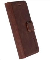 Krusell Sunne 5 Card pouzdro flip Huawei P10 Lite brown