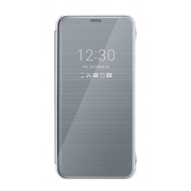 LG QuickCircle CFV-300 pouzdro flip LG G6 titanium
