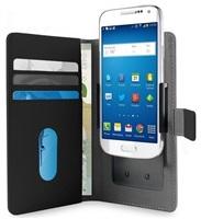 "PURO SMART Wallet flipové pouzdro 4.7"" velikost L black"